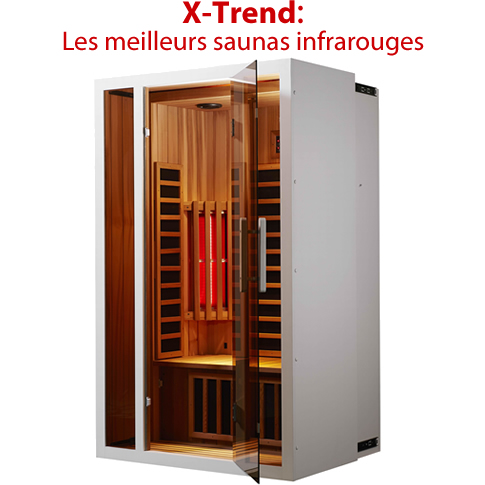 un sauna d 39 ondes infrarouges courtes x trend prix. Black Bedroom Furniture Sets. Home Design Ideas