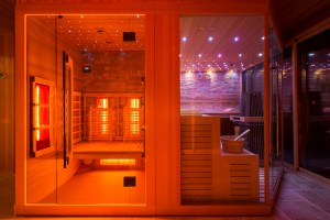 cabine infrarouge sauna sur mesure