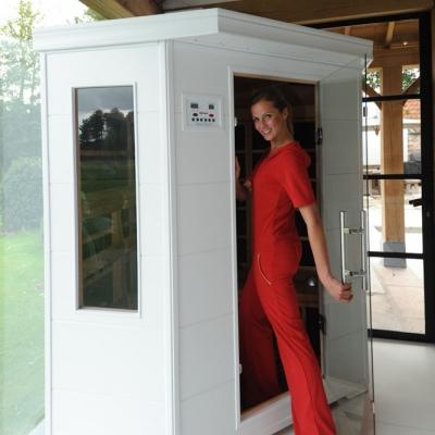 cabine infrarouge extensible